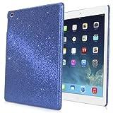 iPad mini 1st Gen Case, BoxWave® [Glamour & Glitz Case] Slim, Snap-On Glitter Cover for Apple iPad mini 1st Gen - Sapphire Blue