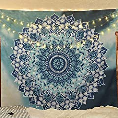 Go for a dramatic makeover of your wall and this tapestry would become a conversational piece of art. A must have in any season. This is a rare beauty not to be missed, a genuine collector item showing the result of masterly workmanship.  Spe...