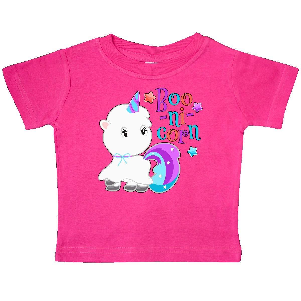 inktastic Boo-nicorn for Halloween Baby T-Shirt