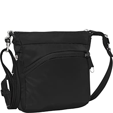 e97631be9b eBags Anti-Theft Mini Crossbody - Small Zipper Lock Bag for Travel and  Everyday -