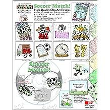ScrapSMART - Soccer Match - Software Collection - Jpeg & PDF files (CDSM125)