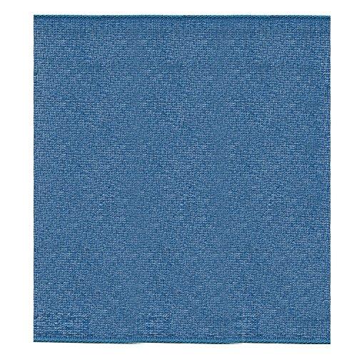 S.I.C. SIC-116 シャンブレーオーガンジーリボン 100mm C/#24 紺×グレー 1巻(30m)
