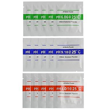 Neuftech 15pcs 4.01 / 6.86 / 9.18 calibrar polvo para calibración ...