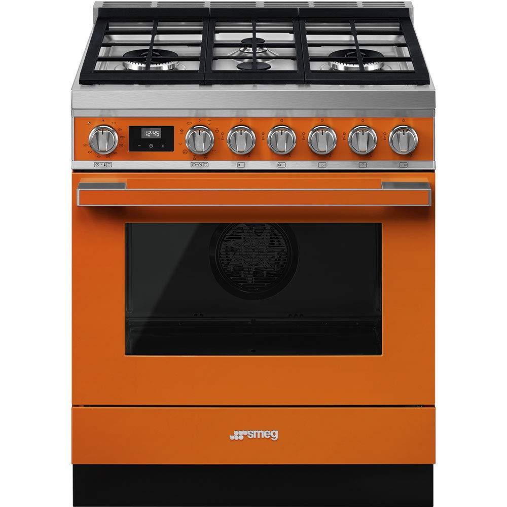 Smeg-Portofino-Aesthetic-Pro-Style-30-Inch-Freestanding-Dual-Fuel-Range-Orange