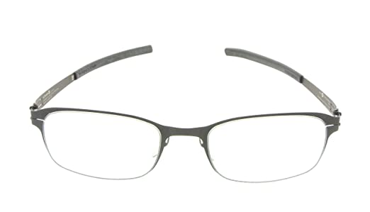 Amazon.com: ic! berlin Eyeglasses 133 Am Dachsbau Black Frames New ...