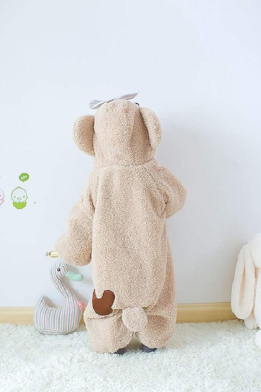 XiaoShop Infant Toddler Baby Boy Girl Cartoon Warm Cute Romper Harem Pants