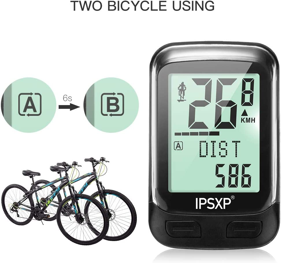 Berrywho bike computer wireless waterproof LCD cycling computer speed bike speedometer cycle Accessories Outdoor Exercise Tool
