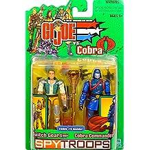 Hasbro Gi Joe Spy Troops Switch Gears Vs Cobra Commander