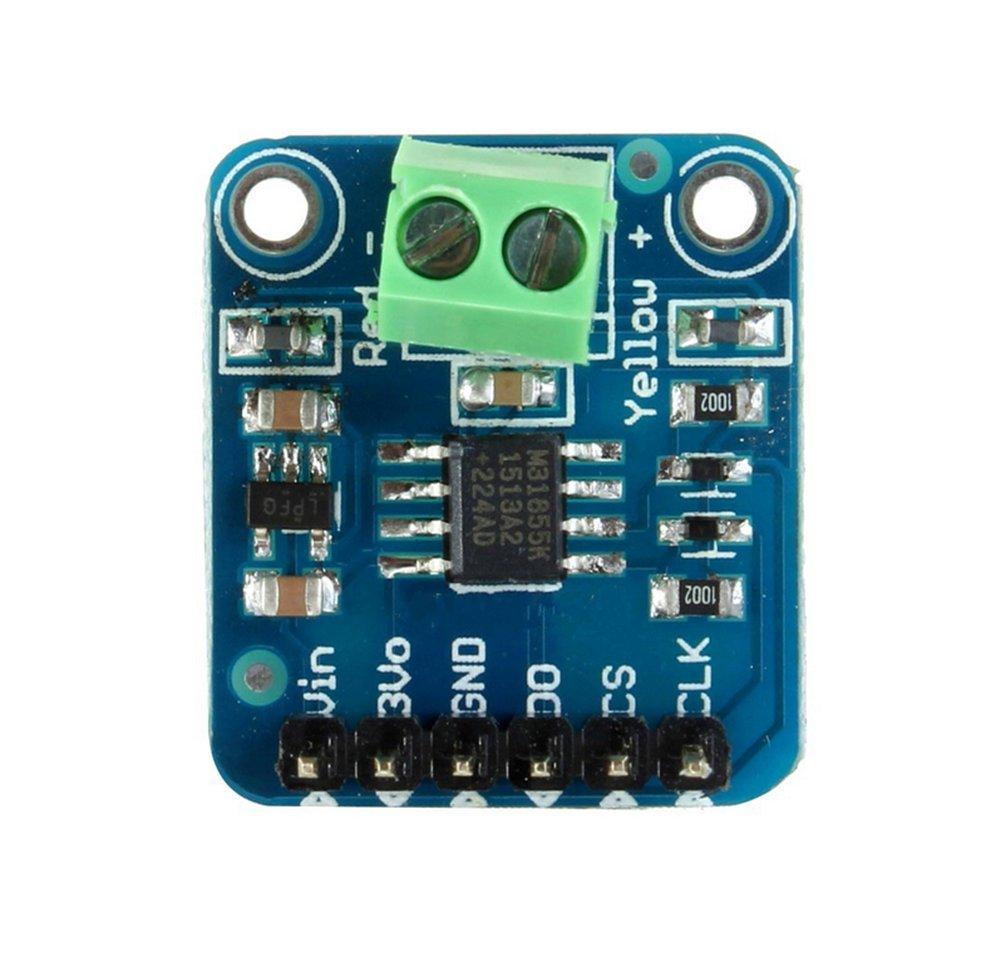 Modul 1350 Grad Hitze SPI-Schnittstelle digital Direkt lesbare Temperatur für Arduino Raspberry Pi Dosige MAX31855 Typ K Thermoelement Auto-Elektronik Zubehör