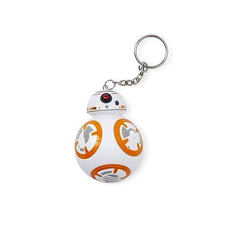 Star Wars 882041031416 Llavero 3D con Sonido BB-8 Figura ...