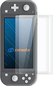 zanasta Protector de Pantalla Compatible para Nintendo Switch Lite [2-Pack] Cristal Vidrio Templado, Transparente: Amazon.es: Electrónica