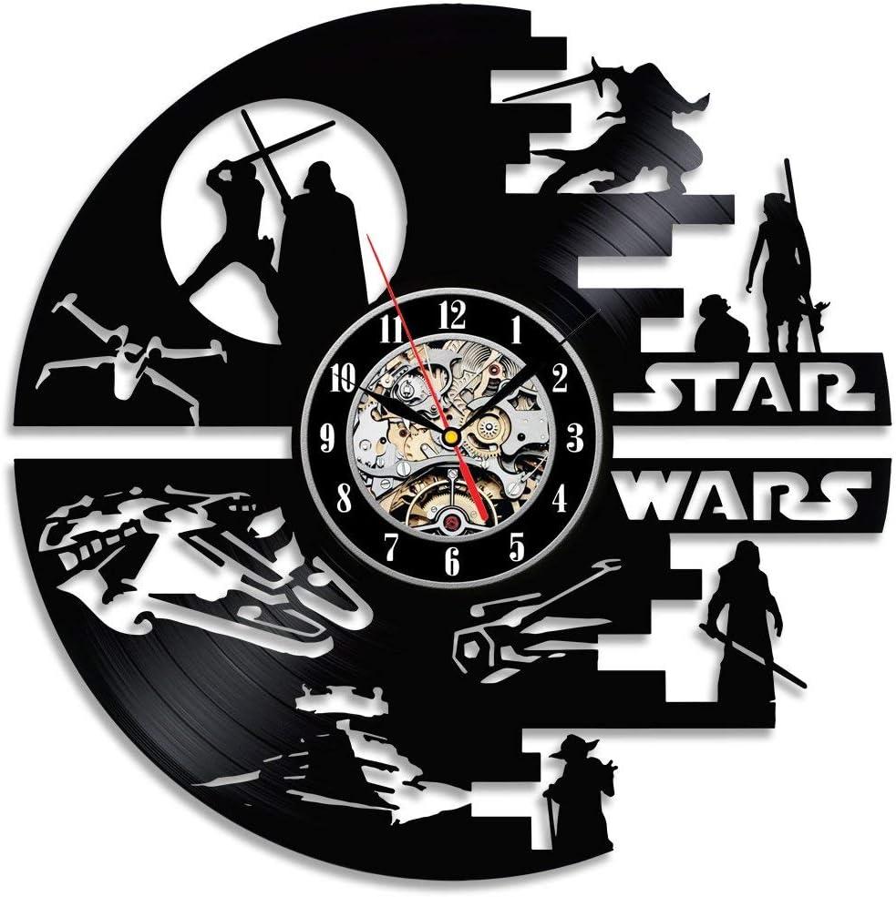 Amazon.com: Star Wars - Reloj de pared con diseño de ...