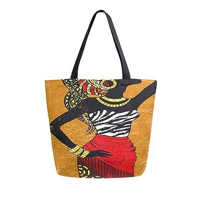 Africana Hermosa Dibujado Retrato mujer Portátil Grande ...