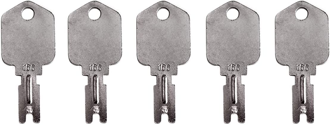 12 Keyman Forklift Equipment Ignition Keys for Clark Yale Hyster Komatsu Gradall Gehl Crown Hyster