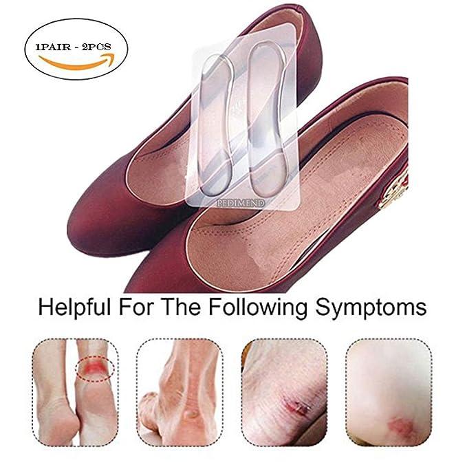 persona Salute silicone it della adhesive heel Amazon PAIR e self cura Pedimend gel pads OBzHfOqE