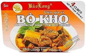 Bo Kho Stewed Beef Seasoning, 4 Cubes, Pack of 1