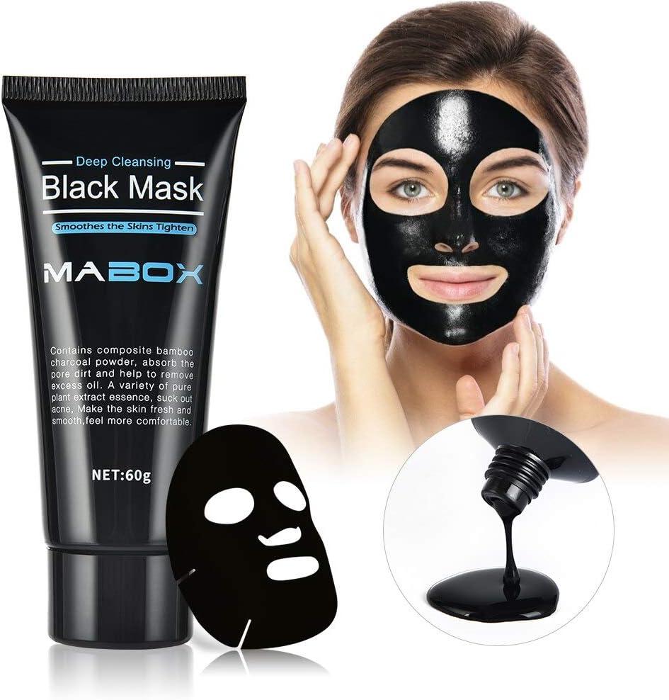 Black Mask Peel Off Mask Deep Cleansing Anti Aging Wrinkles Lifting Firming Tear Off Masks Skin Care