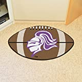Fan Mats 4015 Holy Cross Crusaders 22'' x 35'' Football Shaped Area Rug