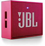 JBL GO Portable Wireless Bluetooth Speaker W/ A Built-In Strap-Hook (PINK)