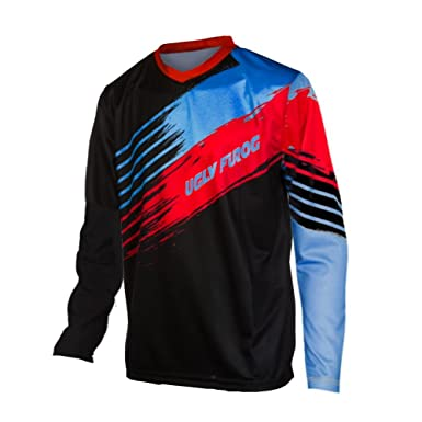 Image Unavailable. Image not available for. Color  Uglyfrog New Men s Long  Sleeves Downhill Clothing MTB ... 75cfc63db