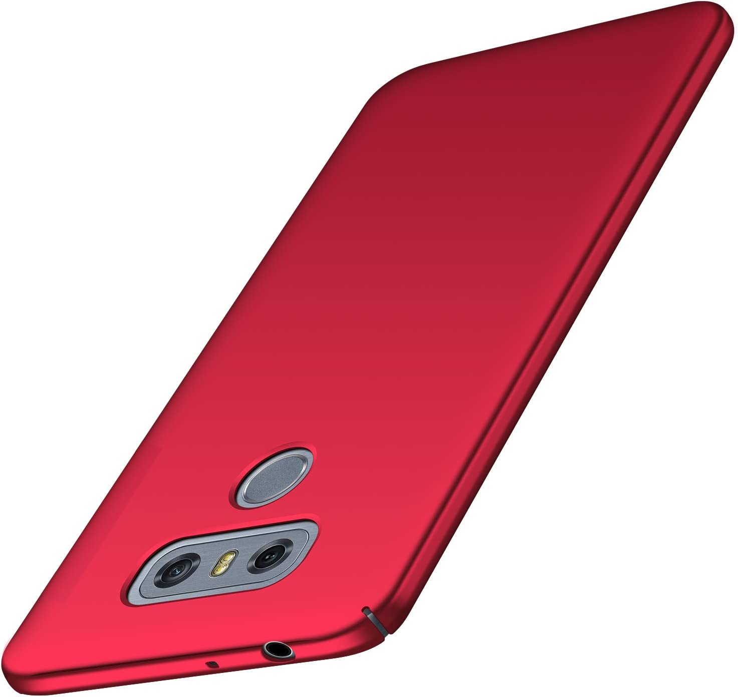 BANZN Case for LG G6 Ultra-Thin Premium Material Slim Full Protection Cover for LG G6 2017 (Red)