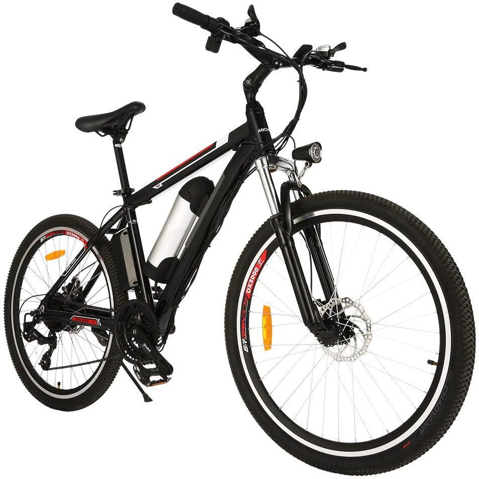 Speedrid Bicicletas eléctricas, Bicicletas Plegables eléctricas de 20''/26''/27.5'' con Ruedas de aleación de magnesio, Bicicleta Eléctrica City para Adultos/Hombres/Mujeres.