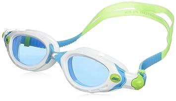 Zoggs Predator Flex Womens Gafas de natación, Mujer, Celeste/Blanco, Talla Única