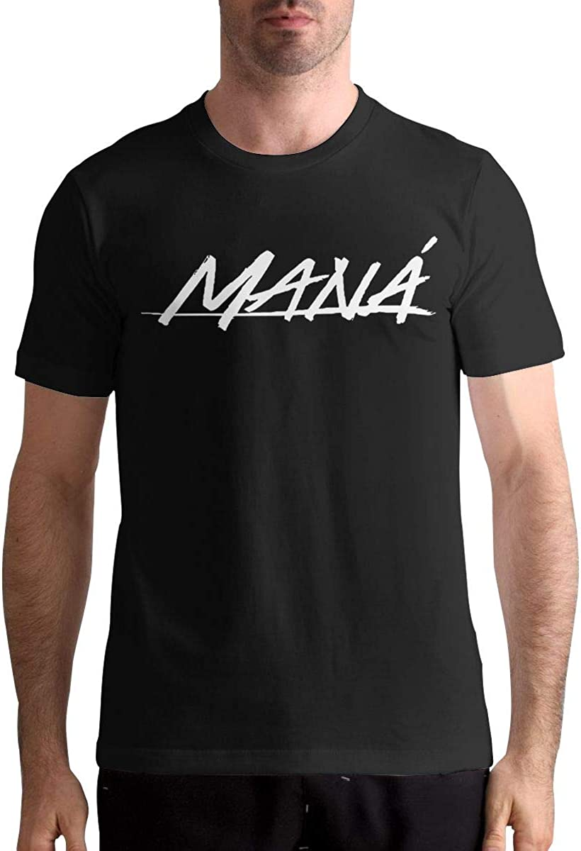 Adelineestell Mana Band Logo Mann 3D Cotton T Shirt