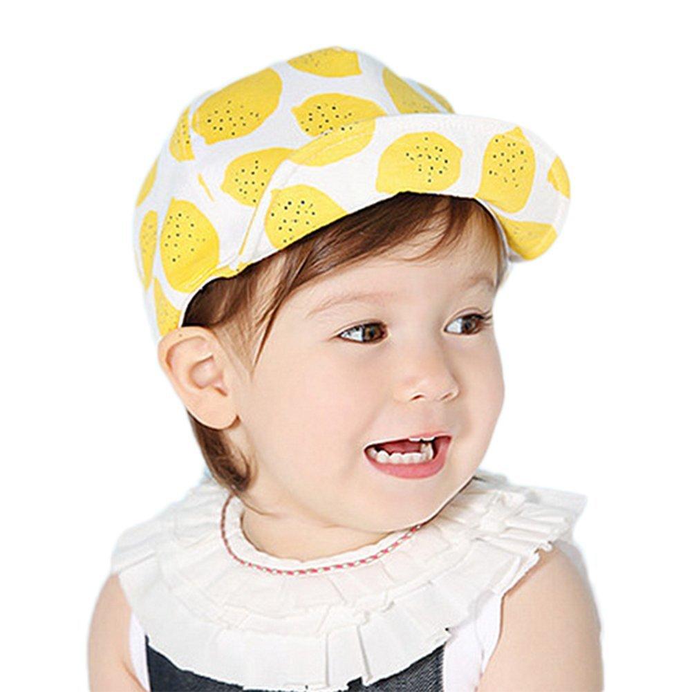 Leisial Niños Gorras de Béisbol Sombrero de Sol con Algodón Gorro de Borde Suave Protector Solar Primavera Verano para Unisex Bebé, Gris oscuro