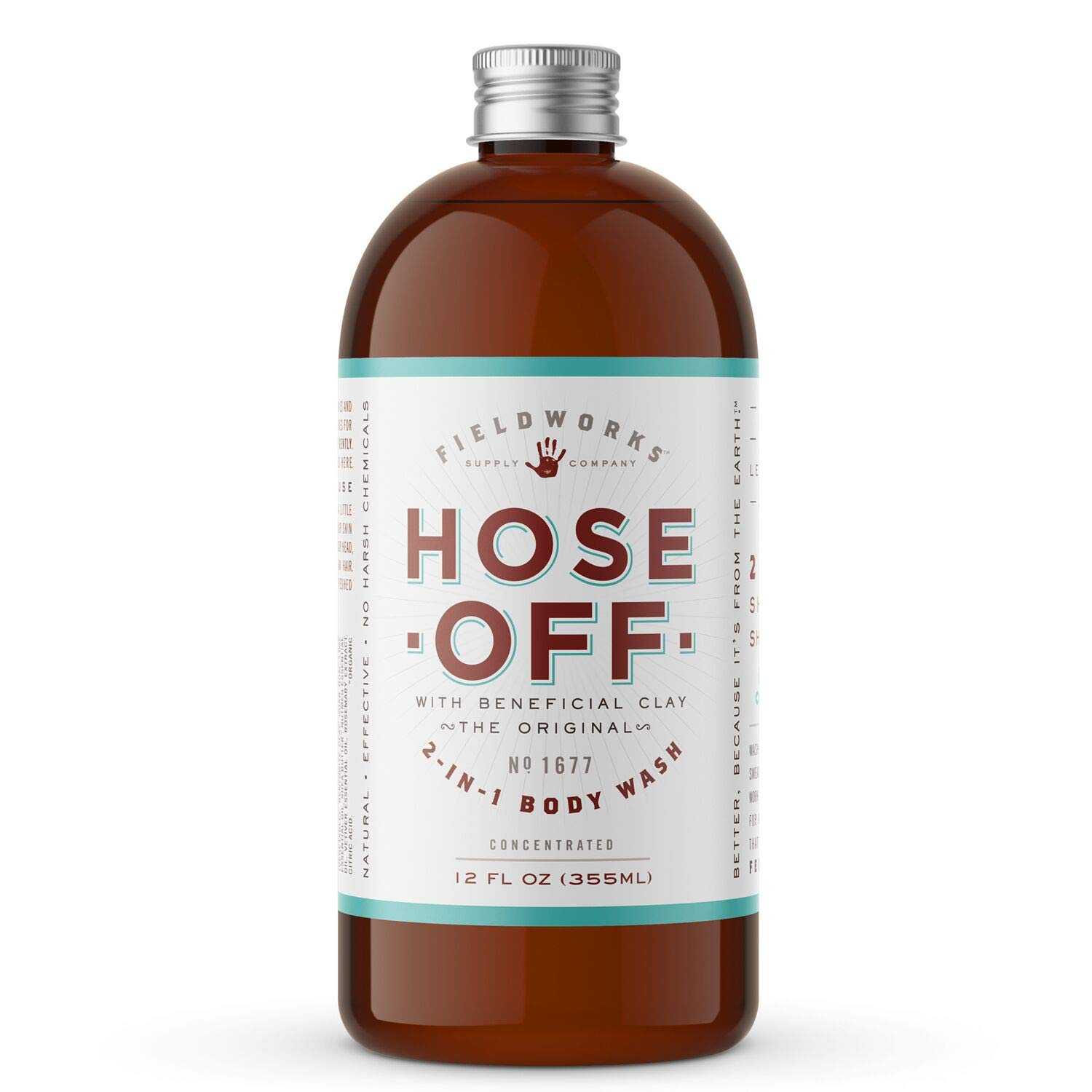 Hose Off Organic All Natural Body Wash Soap
