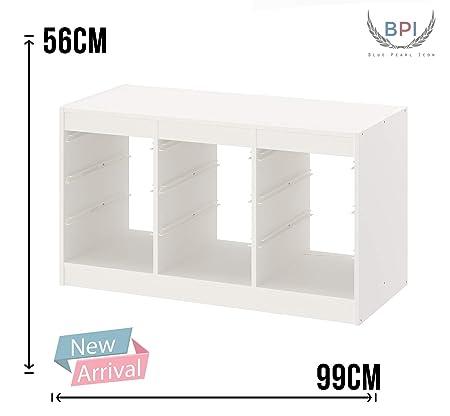 BPIL New Ikea Trofast - Portaoggetti con mensole, 56 x 99 cm ...