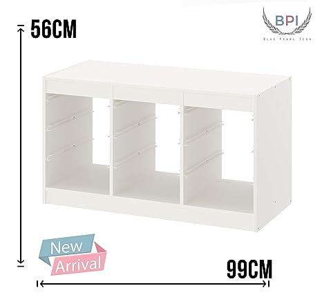 /99/x 56/cm Ikea Trofast/ Blanc/ /Cadre