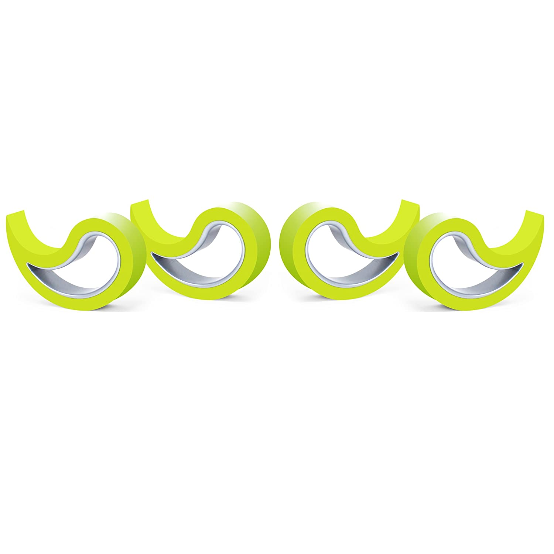 Stoppy Tope de Puerta//Ventana Juego de 4 Asequible en 14 Colores Lila
