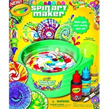 Crayola Spin Art Maker Paint Make You Own Swirly Spin Art