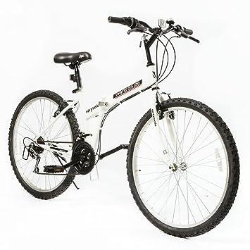 "Zoyo 26 ""bicicleta plegable blanco 21 velocidad V-BRAKE para bicicleta ..."
