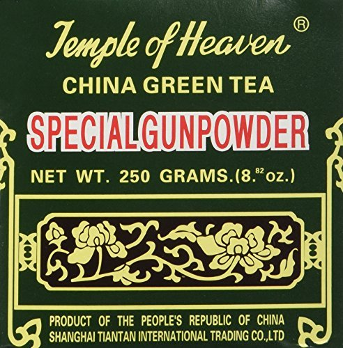 hina Green Tea - Special Gunpowder Loose Tea - 8.82 Oz by Temple of Heaven (China Gunpowder Tea)