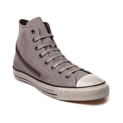 ec9a952c7d9e Converse by John Varvatos Distressed Suede Leather Tornado Zip Sneaker Grey  (6 D(M