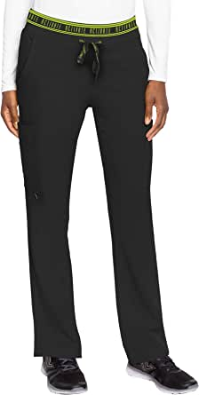 Med Couture Women's Activate Flow Yoga Two Pocket Cargo Scrub Pant