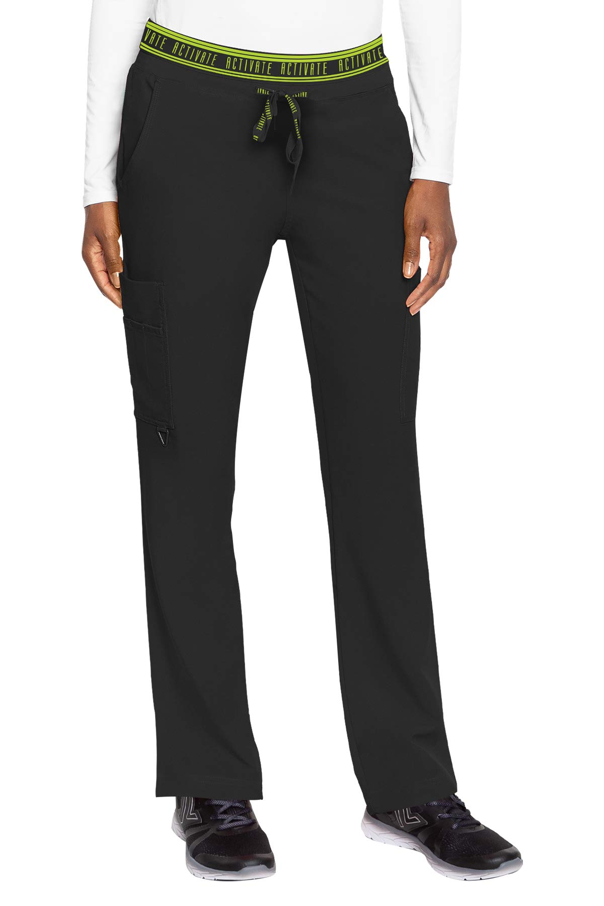 Med Couture Women's Activate Flow Yoga Two Pocket Cargo Pant