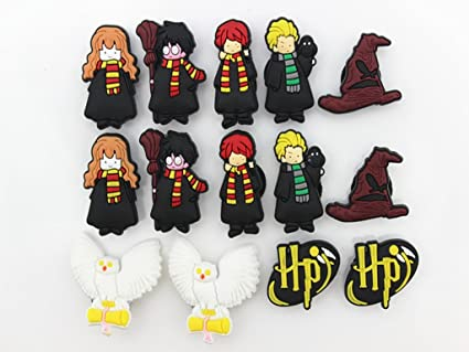 Amazon.com: 14 Harry Potter Shoe Charms para Fits Croc ...