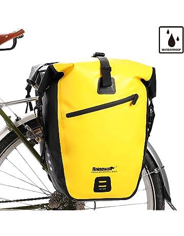 a0cfc31facd Rhinowalk Bike Bag Waterproof Bike Pannier for Biycle Cargo Rack 25L  Postman Saddle Bag Shoulder Bag