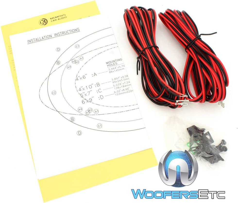 memphis wiring diagram amazon com two sets of memphis 15 pr572v2 5  x 7  80 watts peak 2  amazon com two sets of memphis 15
