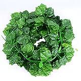 Echodo 6.7 Ft Artificial Ivy Leaf Garland Fake