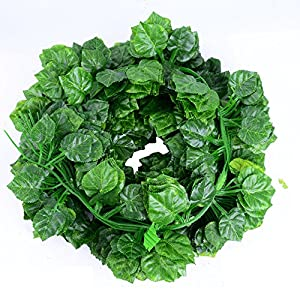 Echodo 82 Ft Artificial Ivy Leaf Garland Fake Hanging Plants Grape Silk Ivy Vine Garlands Wall Crafts Christmas Party Decoration 3