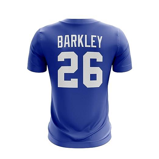 Majestic Athletic Men s Saquon Barkley New York Giants NFL Pro Line Name    Number T- 0d80dd815