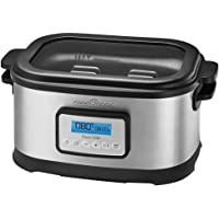 ProfiCook Sous Vide Olla cocción lenta y cocina al vacío para cocinar a bajas temperaturas, 8,5 l, 520 W, 8.5 litros…