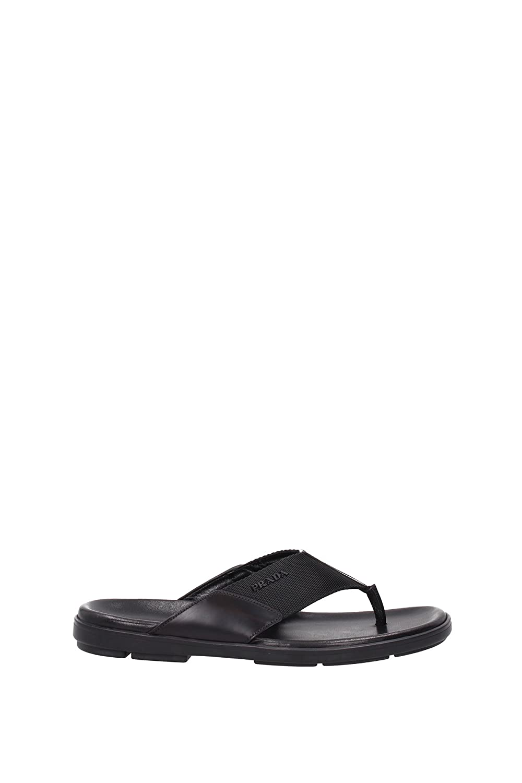 faab8596e19b Prada Flip Flops Men - (2Y2954NERO) 6.5 UK  Amazon.co.uk  Shoes   Bags