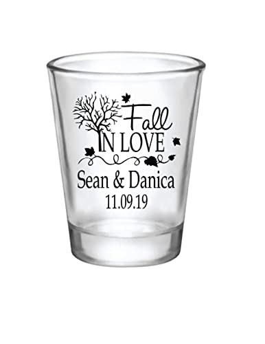 Love Heart Personalized Shot Glasses Wedding Favors Love Wedding Shot Glasses Custom Love Shot Glasses for Weddings 130 Expressive Love