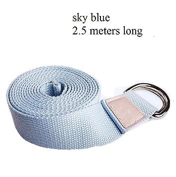 Zyx Yoga Cinturon Algodon - 100% Algodon - Correa Yoga ...