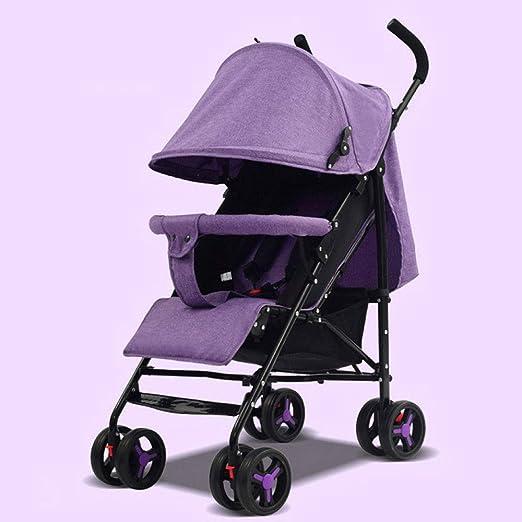 Pink day Cochecito de bebé Ultra-Ligero portátil Plegable ...